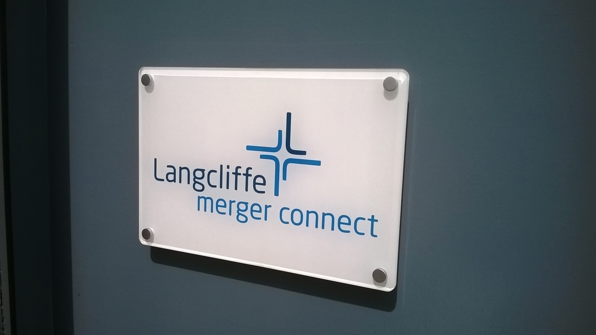 Office Mounted Sign