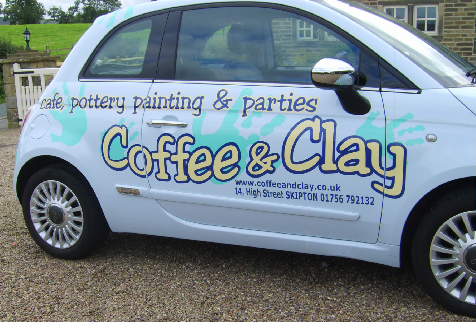 Coffee and Clay car artwork