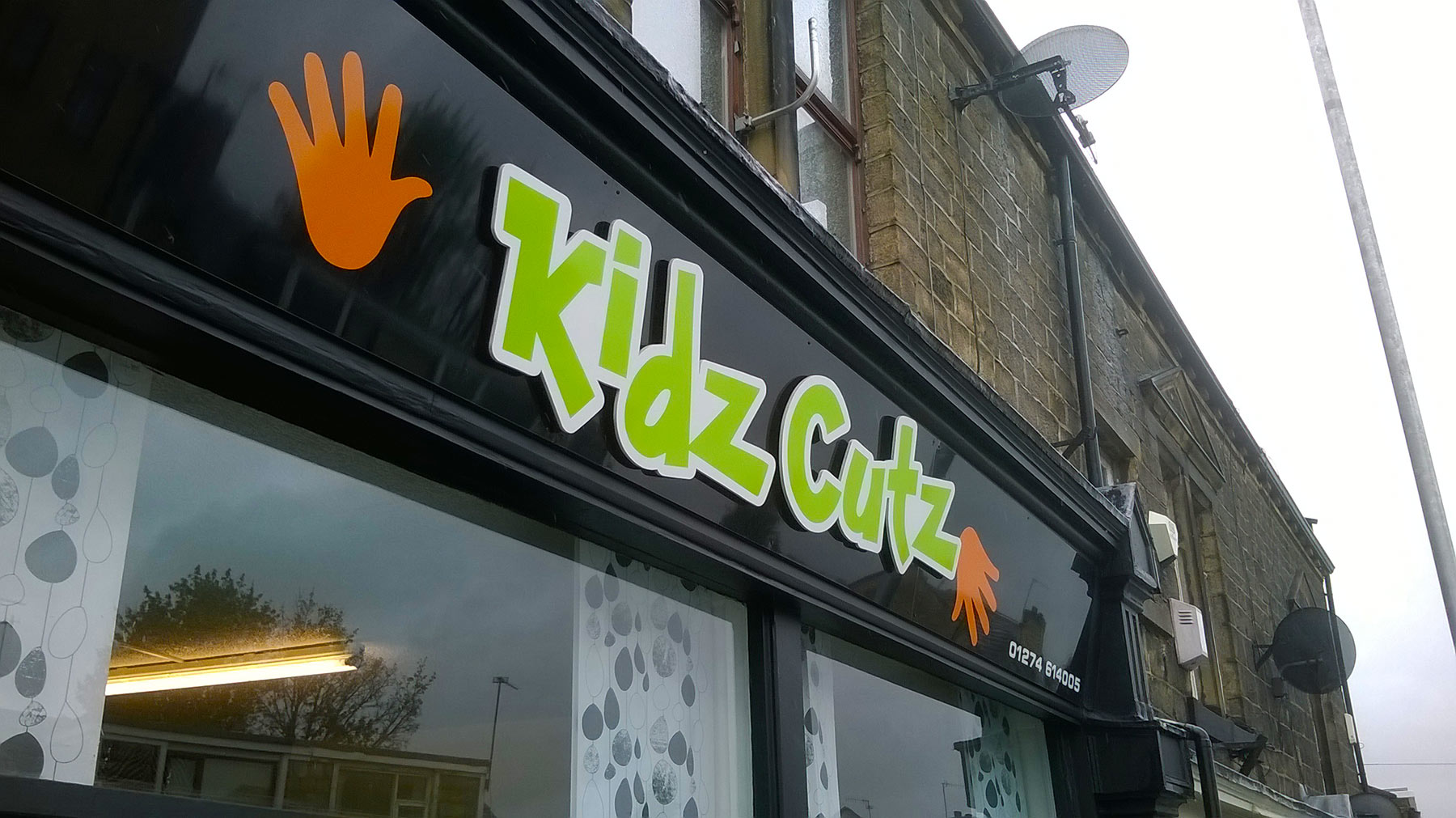 Shop Frontages: Kidz Cutz